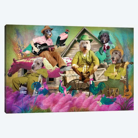 Irish Wolfhound Oh My Darling Clementine Canvas Print #NDG1536} by Nobility Dogs Canvas Artwork
