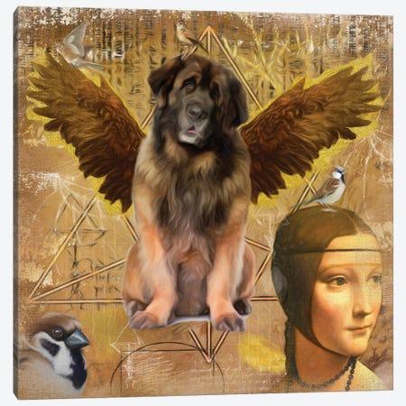 Leonberger Angel Da Vinci Canvas Print #NDG160} by Nobility Dogs Canvas Print