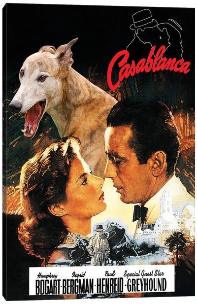 Greyhound Casablanca Movie Canvas Art Print