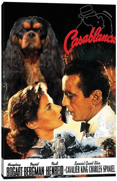 Cavalier King Charles Spaniel Casablanca Canvas Art Print