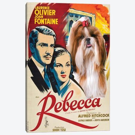 Shih Tzu Rebecca Movie Canvas Print #NDG433} by Nobility Dogs Art Print