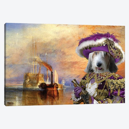 Petit Basset Griffon Vendeen The Fighting Temeraire Canvas Print #NDG667} by Nobility Dogs Canvas Print