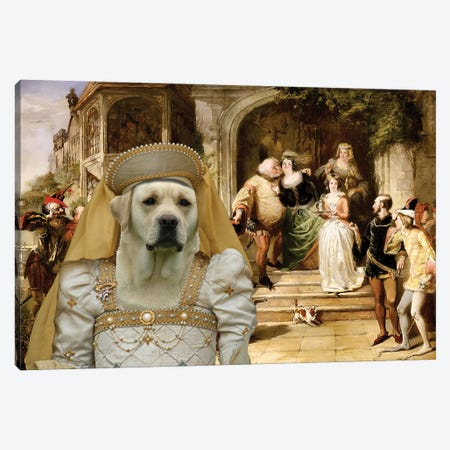 Labrador Retriever Merry Wives Of Windsor Canvas Print #NDG773} by Nobility Dogs Canvas Art