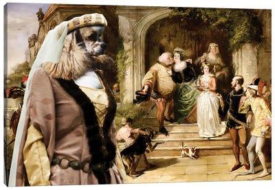 American Cocker Spaniel Merry Wives Of Windsor Canvas Art Print