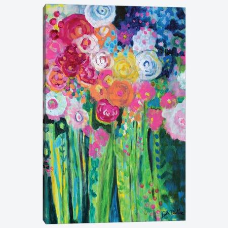 Dancing Bouquet Canvas Print #NDL3} by Beth Nadler Canvas Artwork