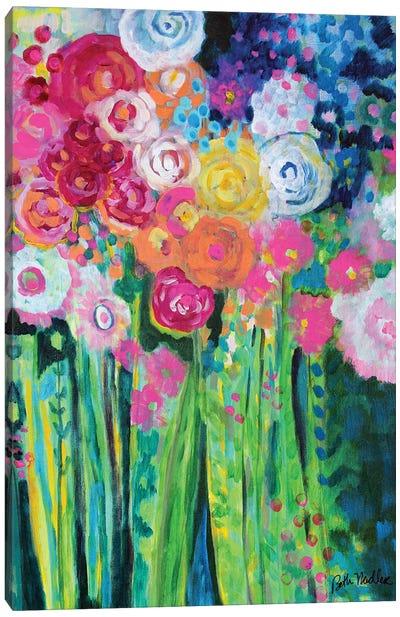 Dancing Bouquet Canvas Art Print