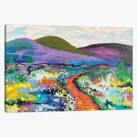 Follow Your Own Path Canvas Print #NDL6} by Beth Nadler Canvas Art Print
