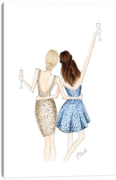 Cheers Duo Canvas Art Print
