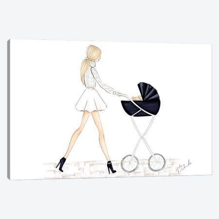 Baby Carriage Canvas Print #NDN15} by Nadine de Almeida Art Print