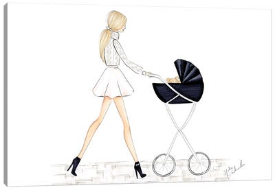 Baby Carriage Canvas Art Print