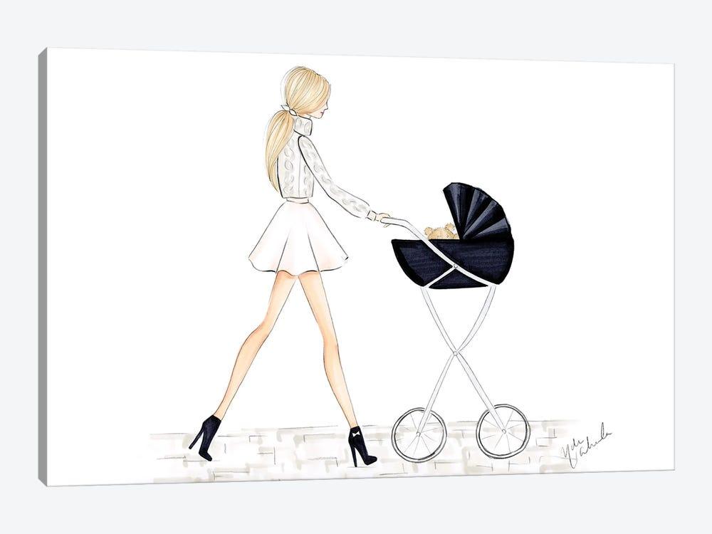Baby Carriage by Nadine de Almeida 1-piece Canvas Art