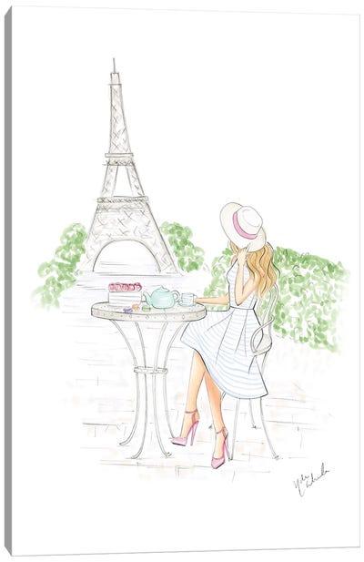 Day In Paris Canvas Art Print