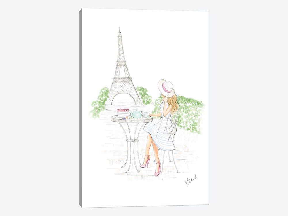 Day In Paris by Nadine de Almeida 1-piece Canvas Artwork