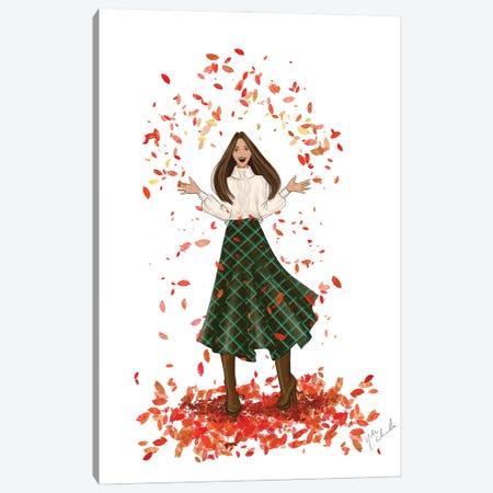 Autumn Canvas Print #NDN46} by Nadine de Almeida Canvas Artwork
