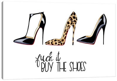 Buy The Shoes Canvas Art Print
