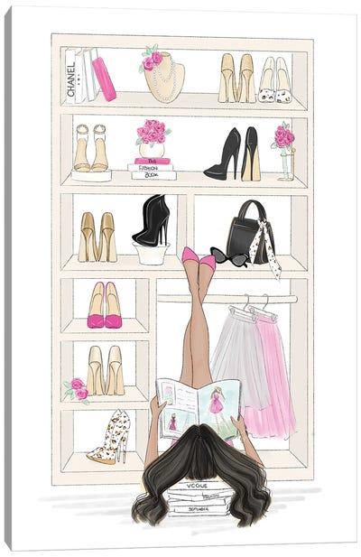 Fashion Closet Canvas Art Print