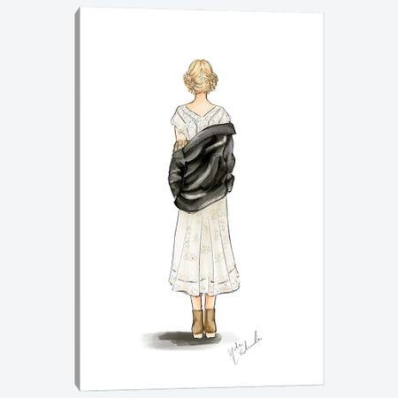 Taylor - Folklore Canvas Print #NDN79} by Nadine de Almeida Canvas Wall Art