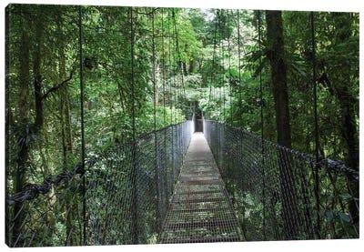 Mistico Arenal Hanging Bridges Park in Arenal, Costa Rica. Canvas Art Print