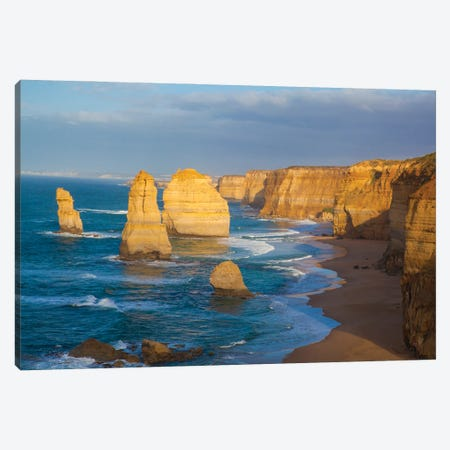 Twelve Apostles, Port Campbell National Park along the Great Ocean Road in Victoria, Australia. Canvas Print #NDS3} by Michele Niles Canvas Art