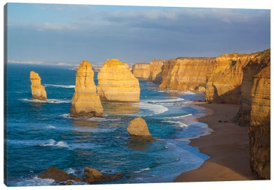 Twelve Apostles, Port Campbell National Park along the Great Ocean Road in Victoria, Australia. Canvas Art Print