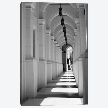 Beautiful architecture in Old Havana, Cuba. Canvas Print #NDS5} by Michele Niles Art Print