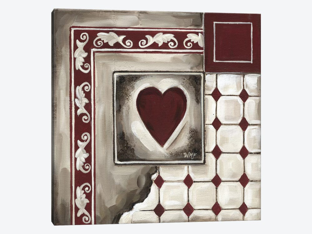 Cards IV by Wendy Fields 1-piece Canvas Artwork