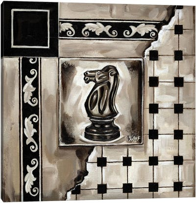 Chess I Canvas Art Print