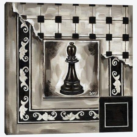 Chess II Canvas Print #NDY4} by Wendy Fields Canvas Art Print