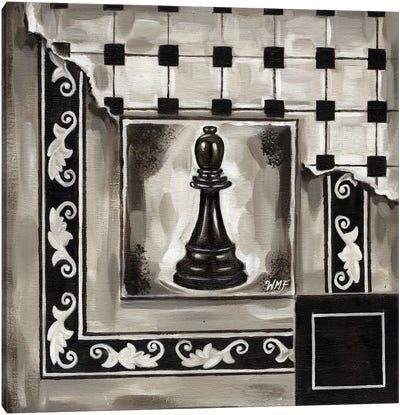 Chess II Canvas Art Print