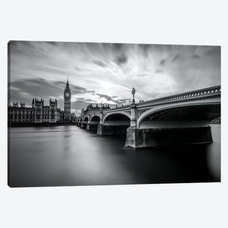 Westminster Serenity Canvas Print #NEA1} by Nader El Assy Canvas Wall Art