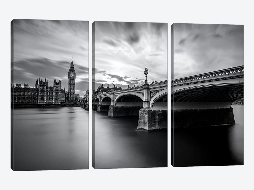 Westminster Serenity by Nader El Assy 3-piece Canvas Art