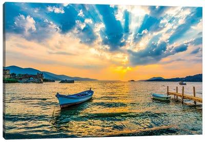 Lake Sunset IV Canvas Art Print