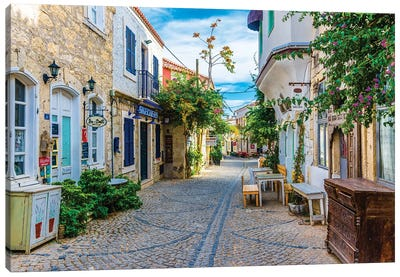 Alacati,Turkey IV Canvas Art Print