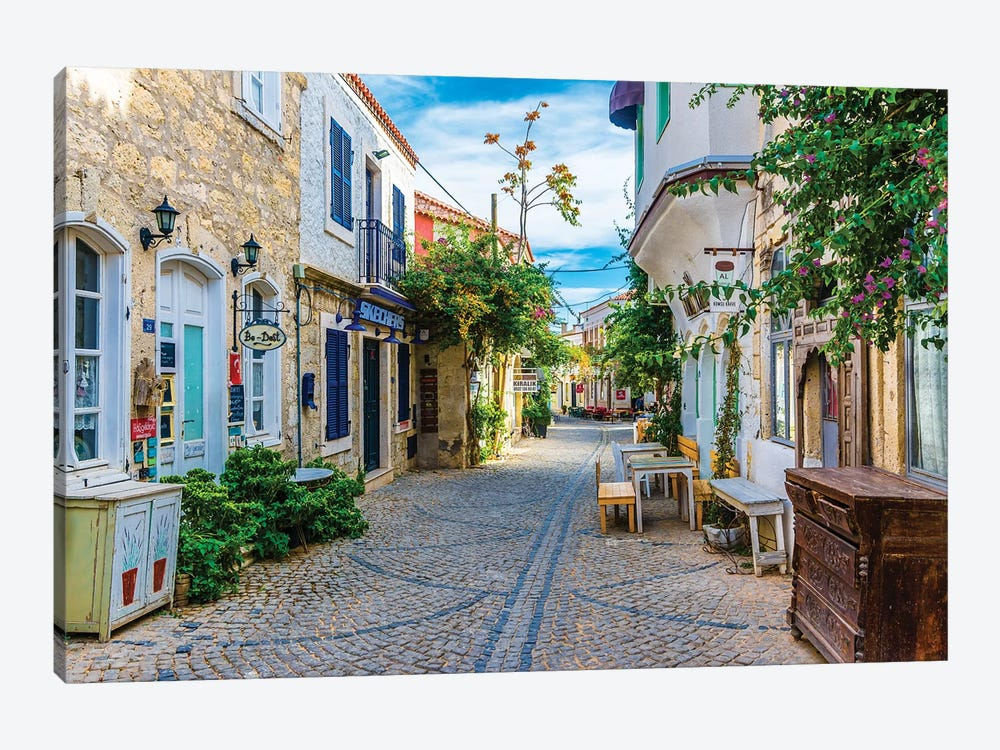 Alacati,Turkey IV by Nejdet Duzen 1-piece Canvas Artwork