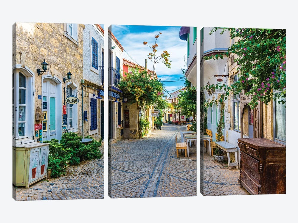 Alacati,Turkey IV by Nejdet Duzen 3-piece Canvas Wall Art