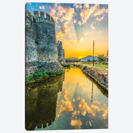 Anamur Castle Canvas Print #NEJ110} by Nejdet Duzen Art Print