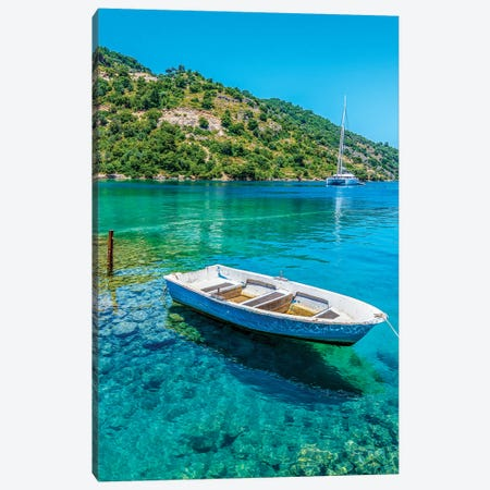 Clear Water Canvas Print #NEJ119} by Nejdet Duzen Art Print