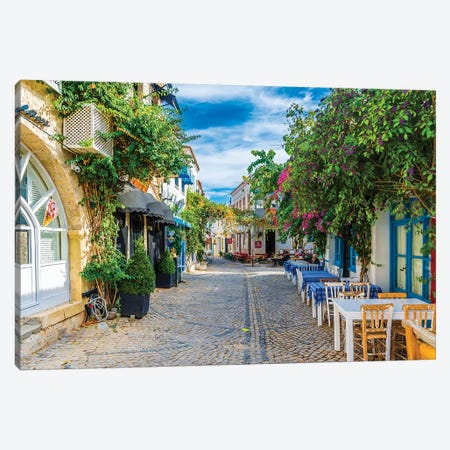 Alacati,Turkey V Canvas Print #NEJ11} by Nejdet Duzen Canvas Art Print
