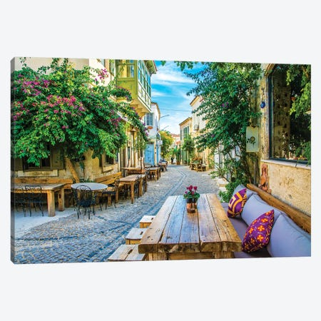 Alacati,Turkey VI Canvas Print #NEJ12} by Nejdet Duzen Canvas Print