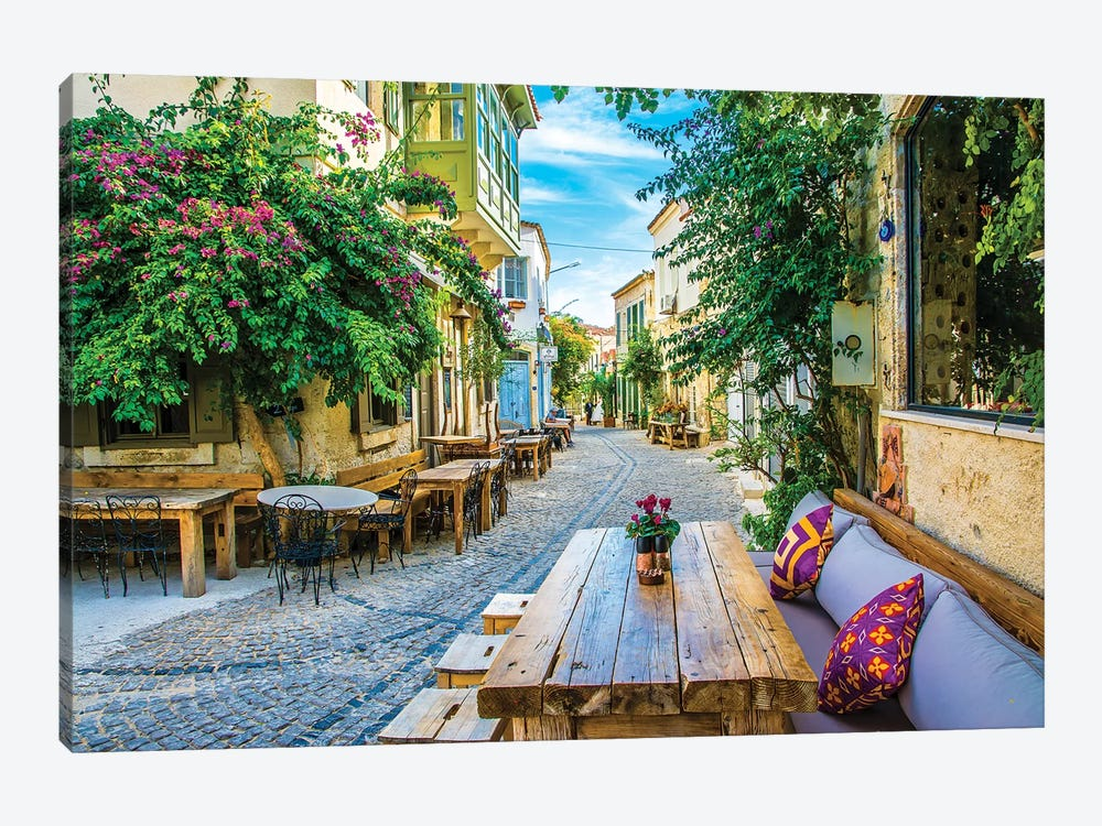 Alacati,Turkey VI by Nejdet Duzen 1-piece Canvas Artwork