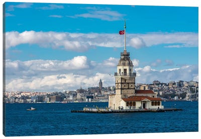 Maiden Tower, Istanbul Canvas Art Print