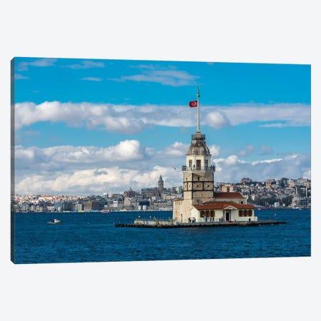 Maiden Tower, Istanbul Canvas Print #NEJ137} by Nejdet Duzen Canvas Art