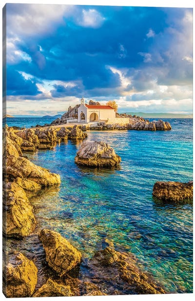 Chios Island Canvas Art Print