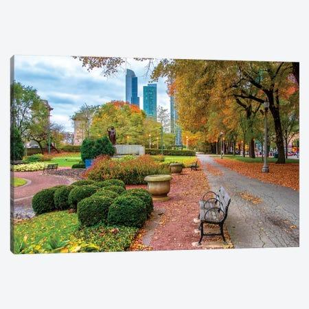 Autumn In Chicago Canvas Print #NEJ165} by Nejdet Duzen Canvas Print