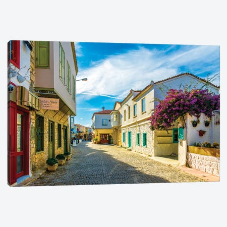 Alacati,Turkey X Canvas Print #NEJ16} by Nejdet Duzen Canvas Artwork