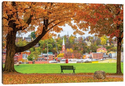 Autumn Of Galena V Canvas Art Print