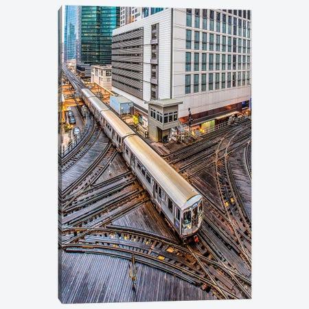 Chicago Loop I Canvas Print #NEJ187} by Nejdet Duzen Canvas Art Print