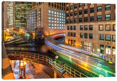 Chicago Loop V Canvas Art Print