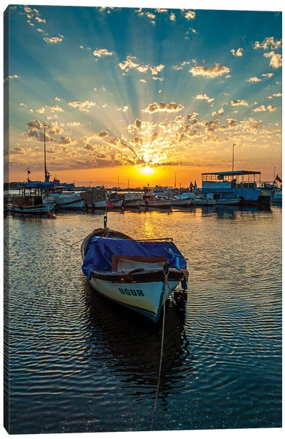 Sunset Rays Canvas Art Print