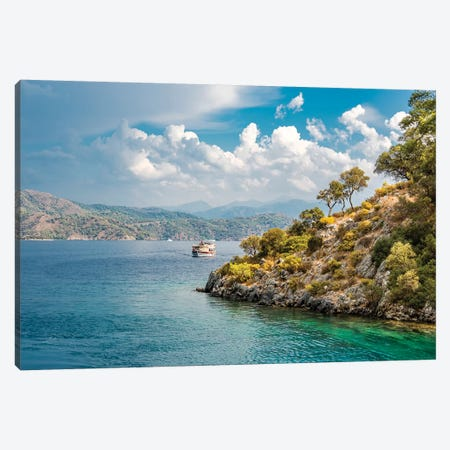 Mediterranean Canvas Print #NEJ208} by Nejdet Duzen Canvas Print